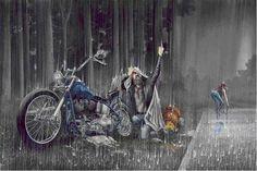 """Thunder Struck"" by David Mann"