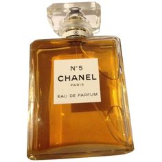 Pre-owned  New Without Box Chanel N5 Eau De Parfum 3.4fl.oz No 5 (1 635 ZAR) ❤ liked on Polyvore featuring beauty products, fragrance, accessories, none, chanel fragrance, edp perfume, eau de perfume, chanel perfume and chanel