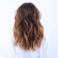 24.Medium Long Hair Style