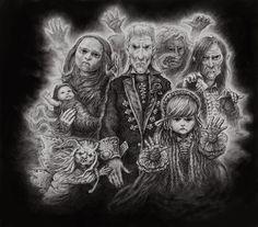 Fantasy Art, Steampunk, Gothic, Painting, Goth, Fantastic Art, Painting Art, Paintings, Fantasy Artwork