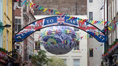 Despite this lame picture, Carnaby Street and the surrounding area is one of the best places to shop in London. Lots of local fashion designers are here. Walk east towards Tottenham Court Rd and you will find lots of good clothes, food and pubs.
