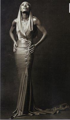 1987 - Grace Jones in Alaia