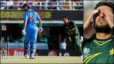 Yuvraj Singh got out on the very first ball he faced by Pakistani pacer Wahab Riaz who got 5 wicket-haul in that big game against India. India Vs Pakistan, World Cup Games, India Win, Yuvraj Singh, Icc Cricket, Latest Cricket News, Man Of The Match, Sachin Tendulkar, Cricket World Cup