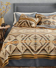 Pendleton Blankets, Diamond Desert Wool Twin Blanket - Macy's $249