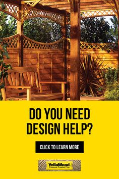 Learn how to find the best design help for your perfect backyard or patio. Learn more today! Deck Design, Garden Design, Landscape Design, Outdoor Rooms, Outdoor Living, Outdoor Showers, Deck With Pergola, Gazebo, Decks And Porches