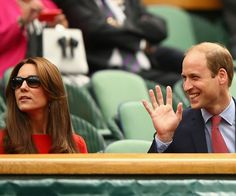 The future King and Queen of England certainly know how to work a crowd.