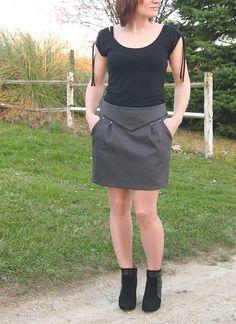 Chataigne en jupe V2 + tuto - Telle est une Estelle