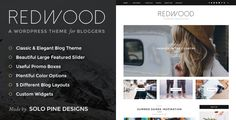 Crafted with bloggers in mind, impress your audience with Redwood's classic, clean, and stately aesthetic. From its stunning slider and promo boxes to the plethora of color options, Redwood delights visually and functionally, giving you the power to customize your blog with just a click of the mouse. And if …