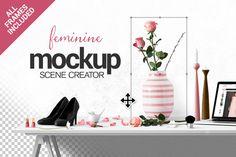 Feminine Scene Creator by Place.to on Creative Market