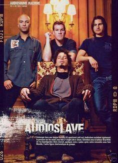 Chris in Audioslave