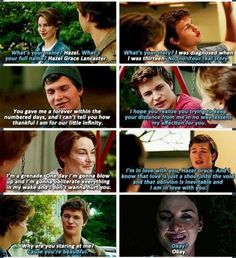 The Fault In Our Stars movie This moving is killing me