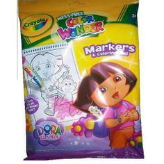Crayola Color Wonder Markers & Coloring Pad - Dora the Explorer by Crayola. $18.48