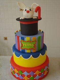 Bolo cenográfico circo | Agrado Festas | Elo7 Circus Birthday, Circus Party, Birthday Cake, Carnival Cakes, Circus Cakes, Bolo Fack, Fake Cake, Character Cakes, Small Cake