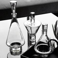 High Shoulder Decanter-Clear - Global Views | domino.com