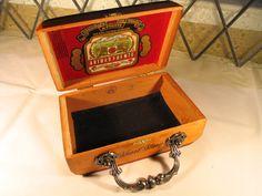 ItzVintageDarling Etsy Shop Cigar Box Purses