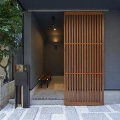 Sliding Screen Door Fix Woods 23 Ideas Japanese Home Design, Japanese Style House, Sliding Screen Doors, Sliding Room Dividers, Panel Doors, Bedroom Minimalist, Minimalist Home, Minimalist Interior, Japanese Architecture