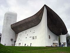 Ronchamp Cathedral - Le Corbusier