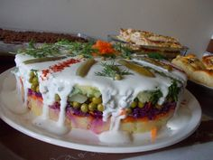 yoğurtlu patates pastası