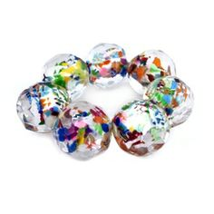 Wildflowers Primavera bracelet by Sobral - made of a multi-colored natural, light weight resin.