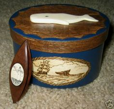 Hand Carved Tatting Shuttle with Scrimshaw by grizzlymountainarts, via Flickr