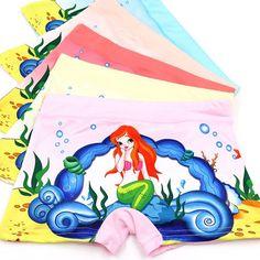 5 шт./лот детская одежда kawaii cartoon девушки underwear мягкого хлопка дети девушки боксер для ребенка трусики 3 11 год купить на AliExpress