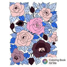 Şununla boyandı: Benim için Boyama Kitabı