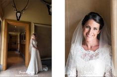 Bride Wedding Dress The Dairy Waddesdon Manor Wedding
