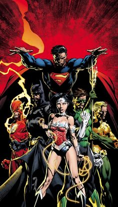Not that I'm a nerd or anything..but I LOVE the Justice League!