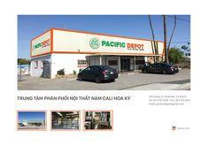 TRUNG TÂM PHÂN PHỐI NỘI THẤT NAM CALI HOA KỲ 1155 Stacy Ct, Riverside, CA 92507 Tel: 951 530 3056 - Fax: 951 530 3057 Email: pacificdepot@gmail.com