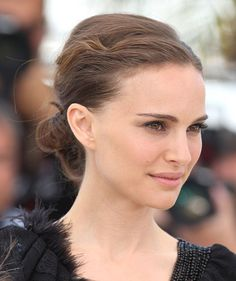 The evening updo was a winner at Cannes, as seen on Natalie Portman
