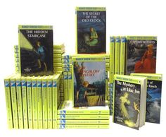 Loved Nancy Drew when I was young.