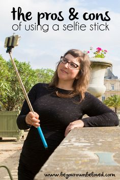 The pros & cons of using a selfie stick (and some tips) from Vivienne McMaster of the #beyourownbeloved workshops #selfie #selfiestick