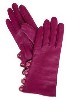 raspberry gloves!