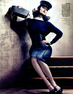 ASIAN MODELS BLOG: MAGAZINE COVER & EDITORIAL: Du Juan in Vogue China Supplement, August 2012