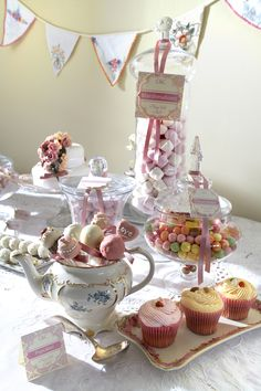 Dessert and Sweets Tables