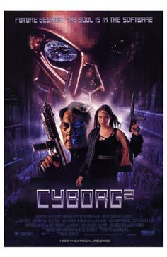 Cyborg Never saw Cyborg This one is notable for having a young Angelina Jolie playing a fugitive cyborg and Elias Koteas as her trainer/love interest. Sf Movies, Movie Tv, Teen Movies, Cult Movies, Movie List, Action Movie Poster, Movie Posters, Film Poster, Billy Drago