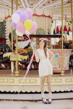Fête Foraine. (by Louise Ebel) http://lookbook.nu/look/878335-Alexandra-Grecco-Dress-Miu-Shoes-F-Te-Foraine