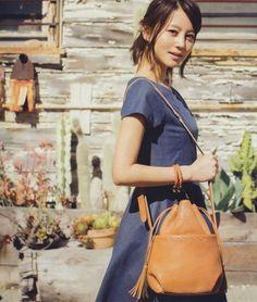 堀北真希 Female Photos, Leather Backpack, Drawstring Backpack, Nice Girl, Cute Fashion, Asian Beauty, Muse, Leather Book Bag
