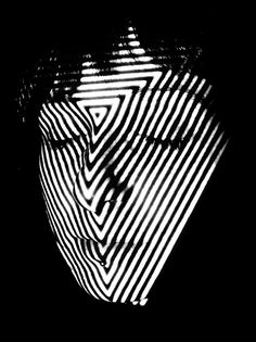 Projections by Adam Pizurny, via Behance #contrast #shape #projection