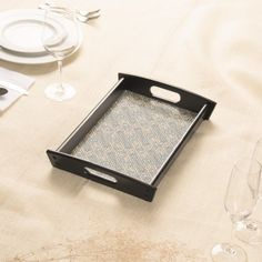 Cobblestone Geometric Texture Serving Tray by #dflcprints and #zazzle