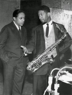 Horace Silver and Sonny Rollins 1959 Jazz Artists, Jazz Musicians, Music Artists, Jazz Blues, Blues Music, Horace Silver, Sonny Rollins, Classic Jazz, All That Jazz