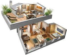 Resultado De Imagen Para Planos Casas House DesignLoft Design3d
