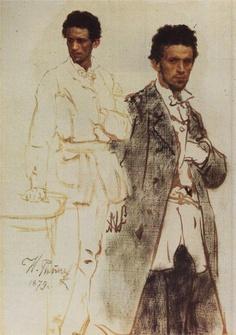 N. Wentzell, 1879 // by Ilya Repin