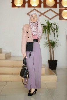 Model baju kerja wanita muslimah 4 Street Hijab Fashion 3affb37cd5