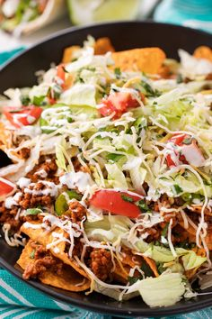 Have dinner ready to go when you come home with these crockpot beef tacos! The taco meat is slow simmered and incredibly tender and juicy! Roast Recipes, Veggie Recipes, Slow Cooker Recipes, Mexican Food Recipes, Dinner Recipes, Crockpot Beef Tacos, Crock Pot Tacos, Stuffed Baked Potatoes, Ground Beef Tacos