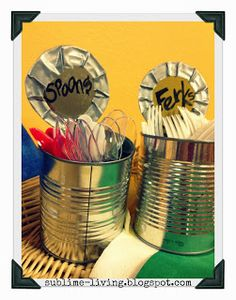 Redneck Forks & Spoons Table Decor SUBLIMEliving