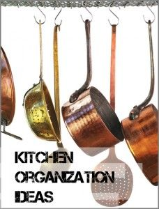 7 Kitchen Organizational Ideas that will help your kitchen be more functional.