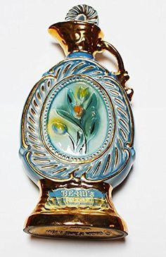 "Vintage Jim Beam Kentucky Straight Bourbon Whiskey Decanter ""Tulips"", http://www.amazon.com/dp/B00KGH2T9M/ref=cm_sw_r_pi_awdm_x_uOM6xb01JB4W7"