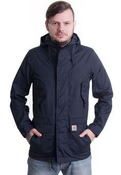 ed9e0cde4089 Carhartt WIP - Battle Parka Navy - Jacket - Streetwear Shop - Impericon.com  UK
