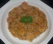 Rezept Garnelen-Zucchini-Risotto von Simona87 - Rezept der Kategorie Hauptgerichte mit Fisch & Meeresfrüchten